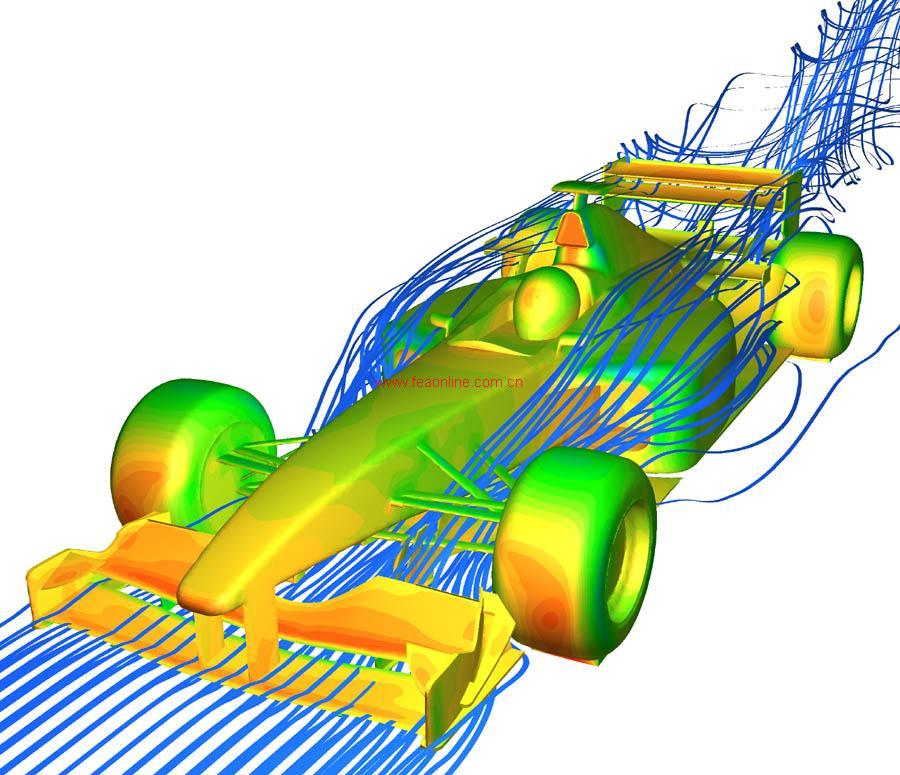 有限元在线-汽车工业cfd分析